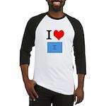 I Heart Photo t-shirt shop Baseball Jersey