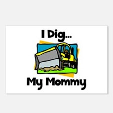 Dig Mommy Postcards (Package of 8)