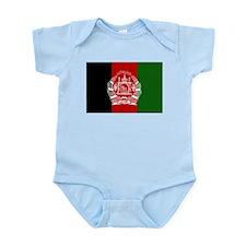 Afghanistan Flag Infant Creeper