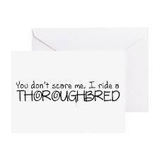 Thoroughbred Greeting Card