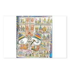 Cute Kwanza Postcards (Package of 8)