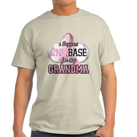 I Support 2nd Base for my Gra Light T-Shirt
