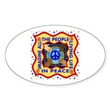 Hands of Peace Decal