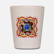 Hands of Peace Shot Glass