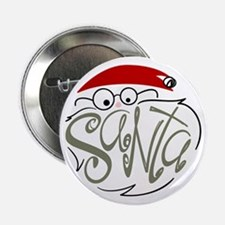 """Santa 2.25"""" Button"""