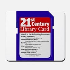 Library Card Mousepad