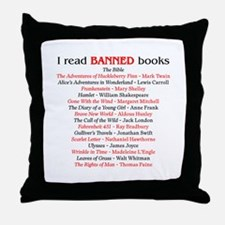 Cute Banned Throw Pillow