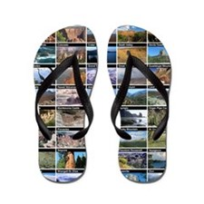 National Park & Monument Flip Flops