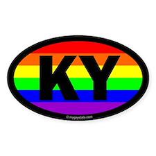 Kentucky Gay Pride Euro Decal