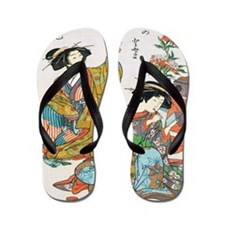 Classical Ancient Japanese Se Flip Flops