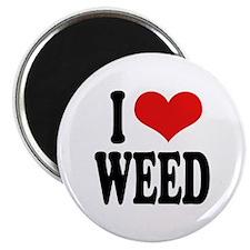 I Love Weed Magnet