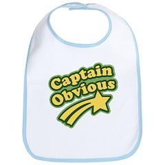 Captain Obvious Bib
