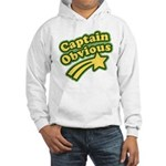 Captain Obvious Hooded Sweatshirt