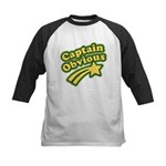 Captain Obvious Kids Baseball Jersey