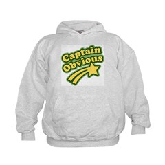 Captain Obvious Hoodie