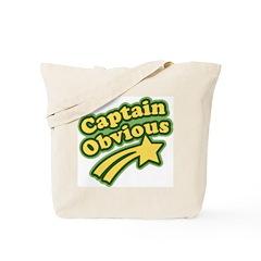 Captain Obvious Tote Bag
