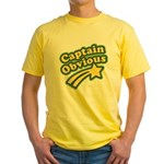 Captain Obvious Yellow T-Shirt