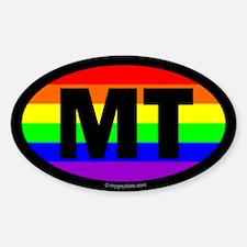 Montana Gay Pride Euro Decal