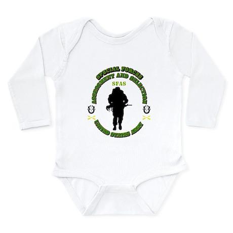 SOF - SFAS Long Sleeve Infant Bodysuit