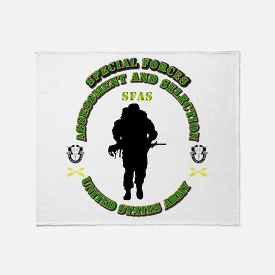 SOF - SFAS Throw Blanket