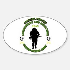 SOF - SFAS Sticker (Oval)