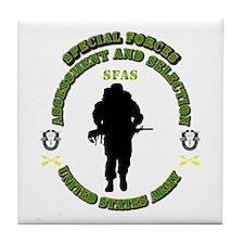 SOF - SFAS Tile Coaster