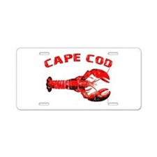 Cape Cod Lobster Aluminum License Plate