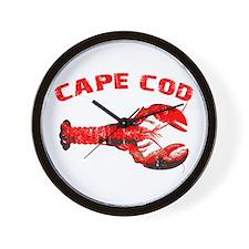 Cape Cod Lobster Wall Clock