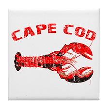 Cape Cod Lobster Tile Coaster
