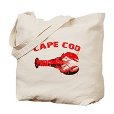 Cape Cod Lobster Tote Bag