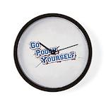 Go Pooch Yourself Wall Clock