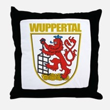 Wuppertal Throw Pillow
