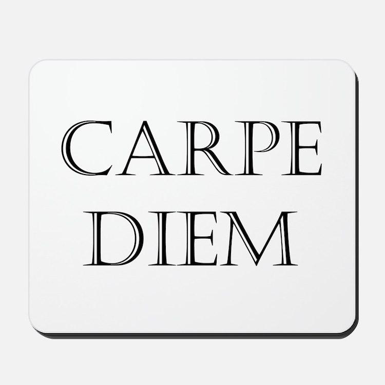 carpe diem Mousepad