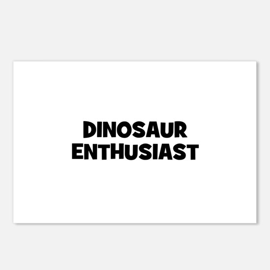 Dinosaur Enthusiast Postcards (Package of 8)