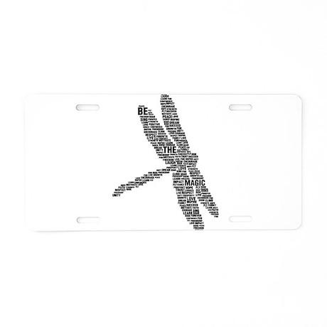 Be The Magic 2011 Aluminum License Plate
