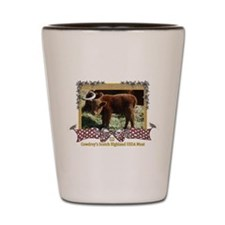 Cowdrey's Scottish Highlander Shot Glass