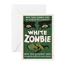 White Zombie Greeting Cards (Pk of 10)
