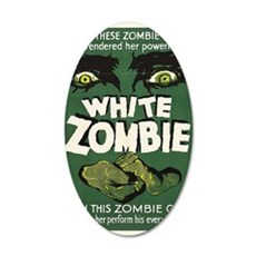 White Zombie 22x14 Oval Wall Peel