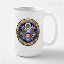 USCG Eagle & Anchors Large Mug
