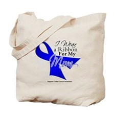 Mom Colon Cancer Tote Bag