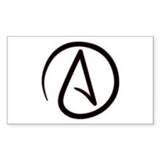 Atheist Symbol Decal
