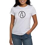 Atheist Symbol Women's T-Shirt