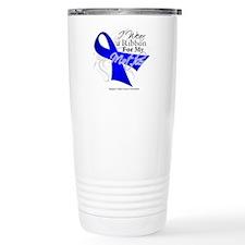 Mother Colon Cancer Travel Coffee Mug