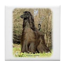 Afghan Hound 9P032D-201 Tile Coaster