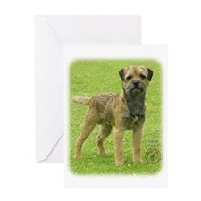 Border Terrier 8T086D-11 Greeting Card