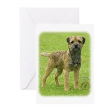 Border Terrier 8T086D-11 Greeting Cards (Pk of 20)