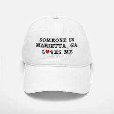 Someone in Marietta Baseball Baseball Cap