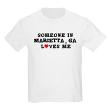 Someone in Marietta Kids T-Shirt