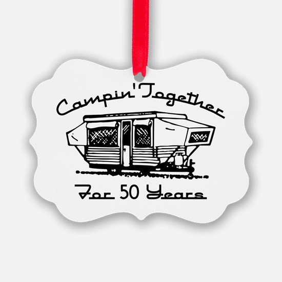 Camping Together 50 Years Ornament