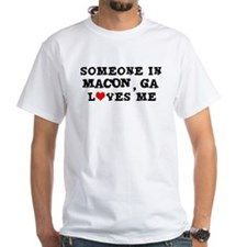 Someone in Macon Shirt